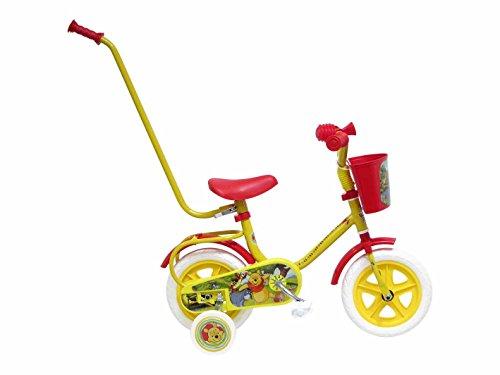 Disney 13198 - Winnie The Pooh Bicicletta con Canna, 10 Pollici