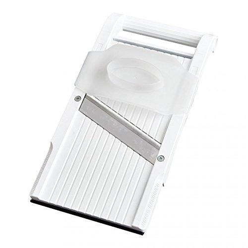 Benriner Mandoline Jumbo Slicer, Japanese Stainless Steel Blade, BPA Free, 13 x 6.5-Inches, New Model
