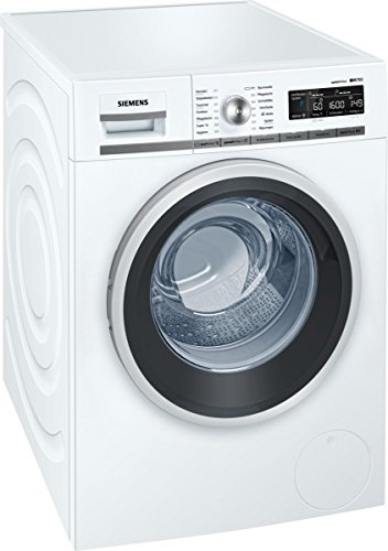 Siemens iQ700 WM16W540 Waschmaschine / 8,00 kg / A+++ / 137 kWh / 1.600 U/min / Schnellwaschprogramm / Nachlegefunktion / aquaStop