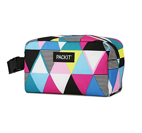 PackIt Freezable Snack Box, Triangle Stripes