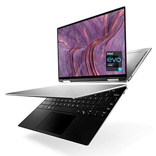 Dell 9310 XPS 2 in 1 Convertible, 13.4 Inch FHD+ Touchscreen Laptop, Intel Core i7-1165G7, 32GB 4267MHz LPDDR4x RAM, 512GB SSD, Intel Iris Xe Graphics, Windows 10 Home - Platinum Silver (Latest Model)