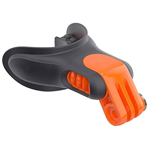Hehsd0 - Set di accessori per montaggio bocca, fotocamera, leggero, per snowboard, surf, sottomarino, surf, surf, connettore portatile, pattinaggio, galleggiante, bocchetta per GoPro Hero 7, 6, 5