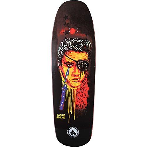 Black Label Skateboards Jason Adams King Kid Assorted Colors Old School Skateboard Deck - 9.63' x 32'