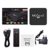 Maxelon MXQ Pro Premium Quality 4K Android TV Box with 2GB RAM/16GB ROM 64Bit Quad Core Processor (Black)