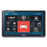 Xgody 886Bluetooth Truck Système de Navigation GPS pour Voiture 17,8cm Écran Tactile capacitif 8Go de ROM GPS Navigator avec cartographie à Vie mises à Jour Détaillées Étape par Étape