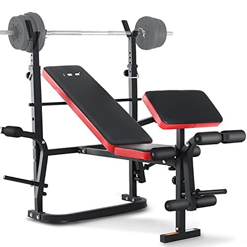 ISE Banc de Musculation Multifonction...