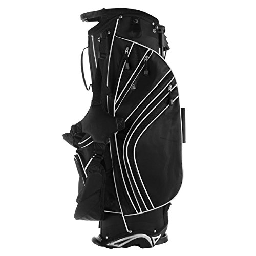 Tangkula-Golf-Stand-Bag-w6-Way-Divider-Carry-Organizer-Pockets-Storage