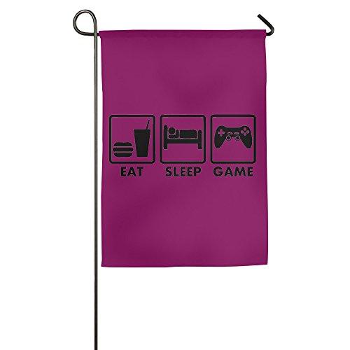 Comer dormir juego casa bandera de banderas, banderas, banderas al aire libre decorativa, Patio, Casa bandera