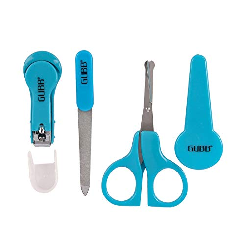 GUBB Baby Manicure Kit for Newborn Baby/Kids Blue- Nail Cutter for Babies, Nail Filer for Infants &...