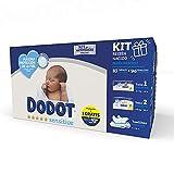 Dodot Sensitive Kit Recién Nacido: 44 pañales Talla 1 (2-5 Kg) + 39 pañales...