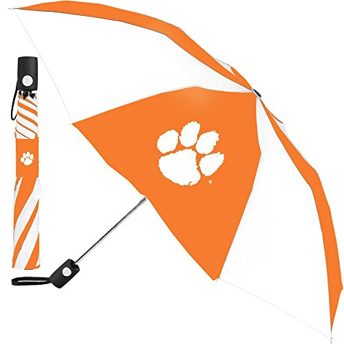 McArthur-Clemson-Tigers-Umbrella-42-inches-Automatic-Folding