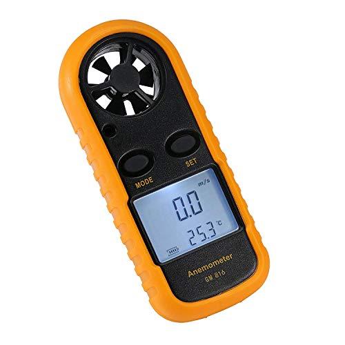 Amgaze Anemometer Handheld, Digital LCD Backlight...