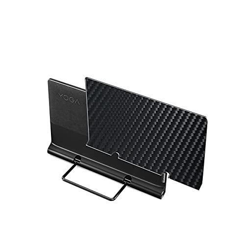 二枚 Sukix 背面保護フィルム 、 Lenovo Yoga Tab 13 13インチ 向けの ブラック カーボン調 TPU 保護フィル...