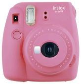 Câmera Instantânea Instax Mini 9, Fujifilm, Rosa Flamingo