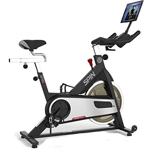 Spinner® L9 Spin Bike Belt Drive w/ Tablet Mount and Dual Water Bottle Holder 1