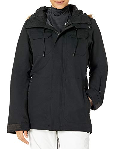 41eGzl FI L V-science 2-layer shell, v-science stretch oxford, v-science iridescent (irm), taffeta lined, poly fill insulation: 80/60 gram low loft, fully taped seams Long eqs fit Zip tech jacket to pant interface