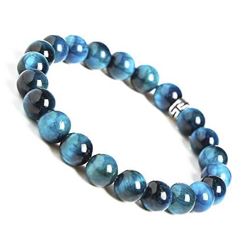 BONNY BOXX Natural Healing Gemstone Bracelet, 8mm Semi...