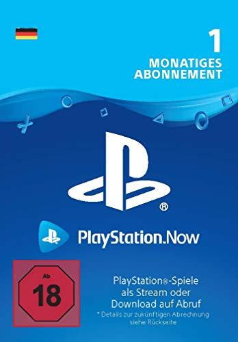 PlayStation Now - Abonnement 1 Monat (deutsches Konto) | PS5/PS4/PS3 Download Code - deutsches Konto