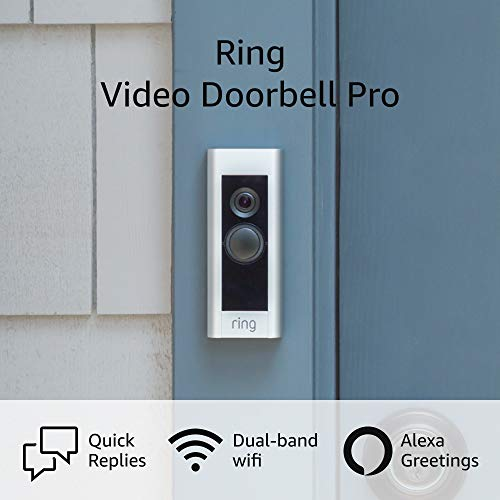 Product Image 8: Ring Video Doorbell Pro – Upgraded, with added security features and a sleek design (existing doorbell wiring required)