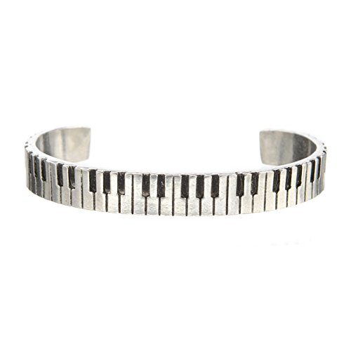 Piano Cuff Inspirational Jewelry Bracelet - Great Gift for...