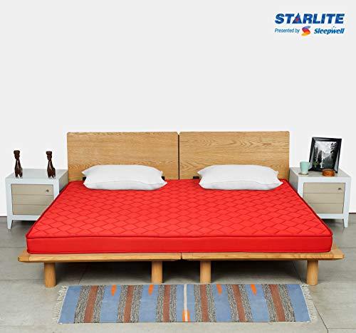 Sleepwell Starlite Discover Firm Foam Mattress (78x72x4)