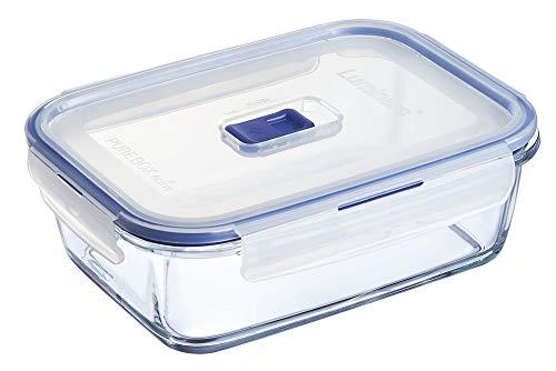 Luminarc 2,9 L Pure Box Active Recipiente HERMETICO Rectangular Vidrio 22 x 16 x 7 cm 197...