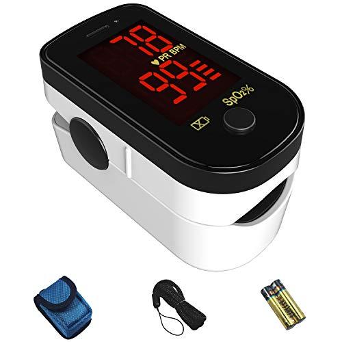 CHOICEMMED Black Finger Pulse Oximeter