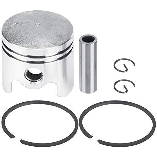 TOPINCN Kit pistone rasaerba Elettrico 40mm Pistone in Lega di Alluminio Adatto per 44-5 520 1E40F-5...