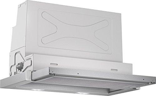 Bosch DFR067A50 Serie 4 Flachschirmhaube / 59,8 cm / Hohe Lüfterleistung / silbermetallic