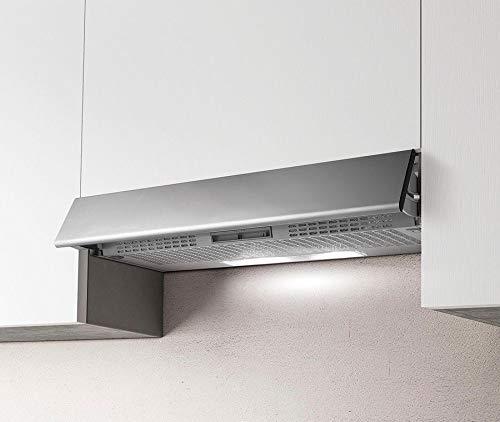 Cappa da Cucina Filtrante, Installazione Sottopensile, da 90 cm ESTRAIBILE GR-FR.IX/F/90