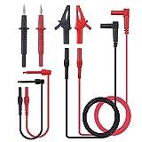 Joody Ensemble de 8 câbles de Test multimètre Professionnels avec Extensions,...