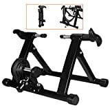 LUCKFY Indoor Bike Trainer Stand - Stationary Exercise Trainer Stand - Fit 20-22' Mountain & Road Bicycle Support