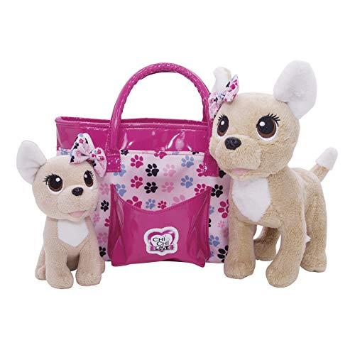 Baby Love perrito con bolso de Chi Chi Love (Simba 5893178)