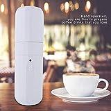 Estink Mini machine à café portable USB Handhold Machine à expresso Petit format 25,3 x 7,5 x 7,5 cm Idéal pour le camping, les voyages et les aventures
