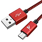 Rampow Câble Micro USB [2m/6.5ft] - Charge / Synchro Ultime Rapide -...
