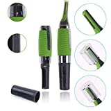 global mart All In One Personal Cordless Touches Hair Nose and Ear Trimmer with Built-In LED Light for Men for Travel