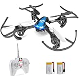 Holy Stone HS170 Mini Drone for Kids & Adults, RC Nano Quadcopter with 2 Batteries, Altitude Hold,...