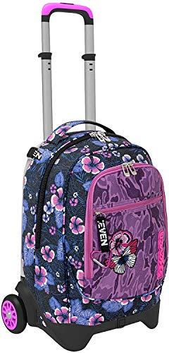 Schoolpack Trolley,Jack 2WD + Astuccio 3 Zip (1 Funny Gilly)