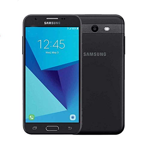 Samsung Galaxy J3 Express Prime 2 SM-J327A 4G LTE 7.0 Nougat 5' Smartphone (AT&T) - Black