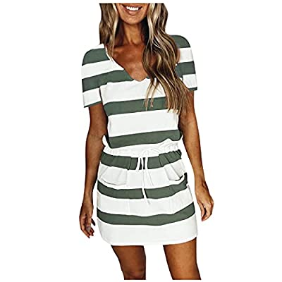 Women's Bohemian dresses are soft smooth-touched, the lightweight breathable clothing prevents you from hot summer, keep you breezy.This 2021 women's casual dresses has a soft fabric blend lining on it ,won't see through and you won't feel hot or stu...