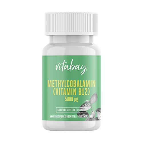 Metilcobalamina, vitamina B12 (5000mcg)