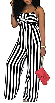This floral jumpsuit not only trendy surface,the soft materail will bring you with the comfortable touch feeling,maybe you will like to wear it for long time,just for enjoying the feeling. Sexy Adjustable Spaghetti Strap Jumpsuit,Stripe Jumpsuit,Slee...