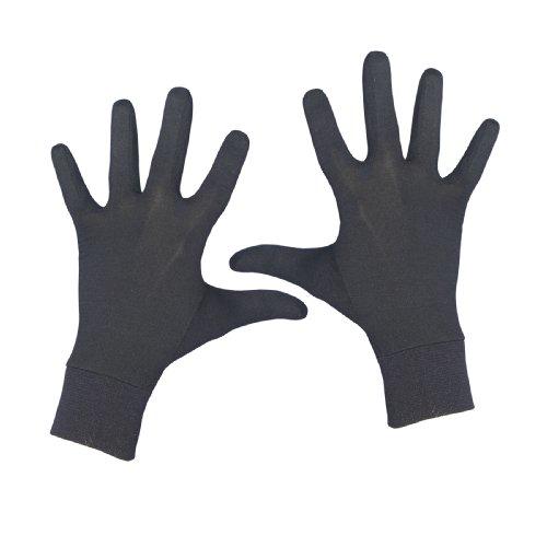 Terramar Adult Thermasilk Glove Liner (Black, X-Large)