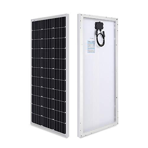 Renogy 100 Watt 12 Volt Monocrystalline Solar Panel, Compact...