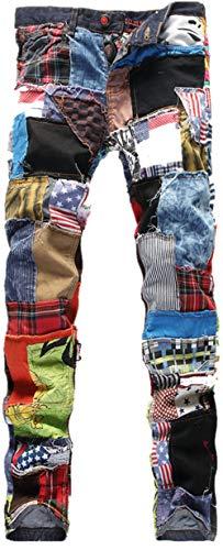 Bestfort Herren Jeans elastische Lokomotive Stretchhosen M Jeanshosen...