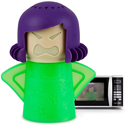 Angry Mama Microwave Cleaner Microwave Oven Steam Cleaner Doll...