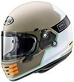 アライ(Arai) ヘルメット ラパイドネオ オーバーランド (RAPIDE-NEO OVERLAND) フルフェイス クラシック ベージュ・カーキ 57-58cm RN-OVEBE-57