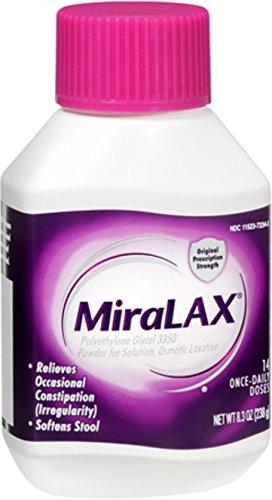 MiraLAX Powder 8.30 oz (Pack of 2)