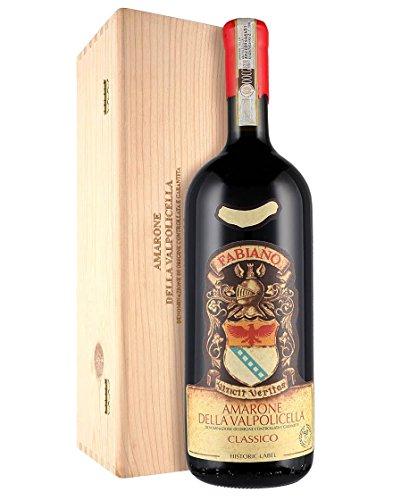 Amarone della Valpolicella Classico DOCG Etichetta Storica Fabiano 2016 Magnum 1,5 L, Cassetta di legno