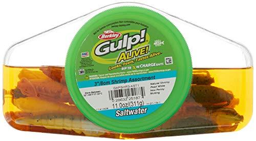 Berkley Gulp! Alive! Shrimp Assortment , 3-Inch